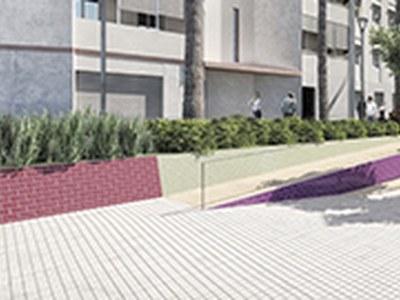 El carrer Avellaner canvia de cara i elimina les barreres