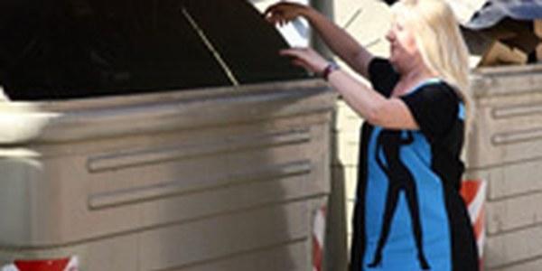 Horaris autoritzats per dipositar escombraries i altres residus als contenidors