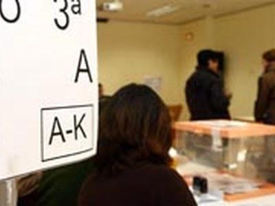 Eleccions Generals aquest diumenge, 10 de novembre