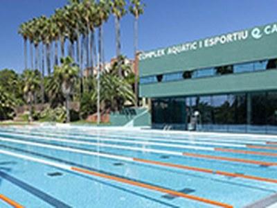 Les piscines exteriors de Can Mercader obriran el proper dilluns 29 de juny amb cita prèvia