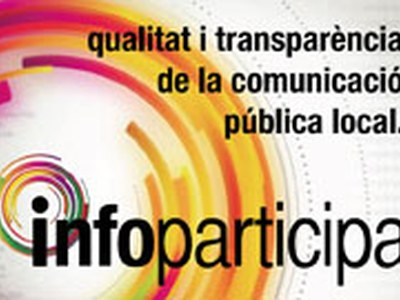 Segell Infoparticipa per la qualitat i transparencia del web municipal