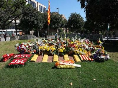 Acte institucional de commemoració de la Diada de l'11 de setembre