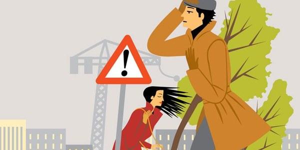 Alerta per forts vents
