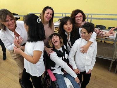 Es commemora el Dia Internacional de les Persones amb Discapacitat