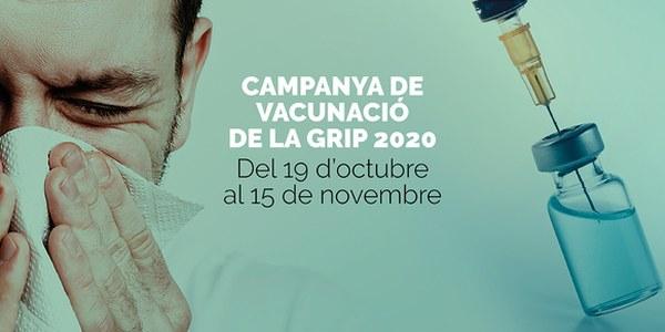 Comença la campanya especial de vacunació contra la grip, demana cita prèvia