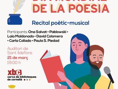 Cornellà commemora el Dia Mundial de la Poesia 2021