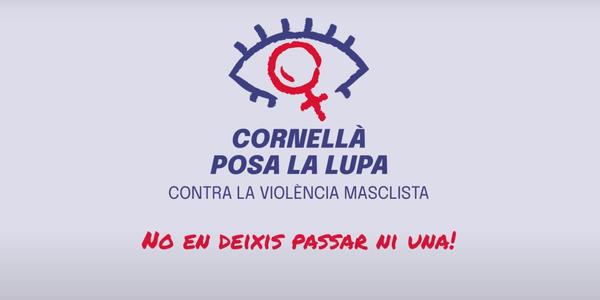Cornellà posa la lupa contra la violència masclista