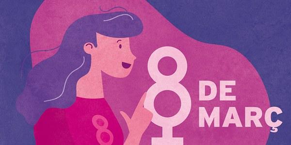 Cornellà subratlla el seu compromís amb el feminisme i les reivindicacions del Dia de la Dona Treballadora