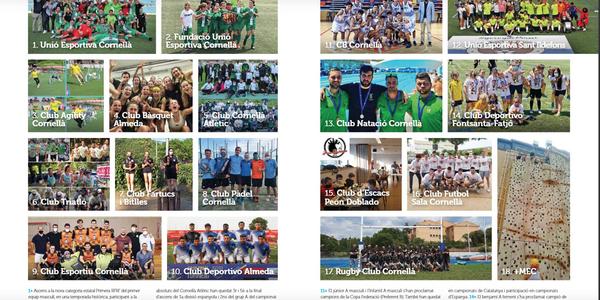 Imatges per cloure la temporada esportiva 2020-2021