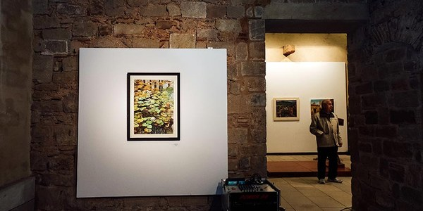 Inauguració virtual de l'exposició del Grup de Pintors, que es podrà visitar fins al 23 de maig al Castell