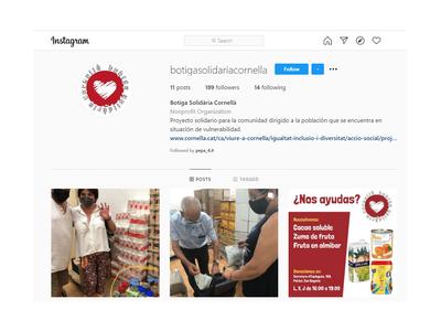 L'alumnat de l'Institut Maria Aurèlia Capmany crea l'Instagram de la Botiga Solidària