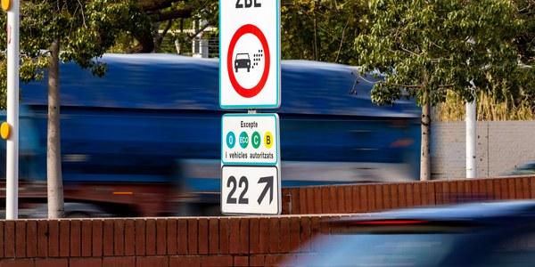 La moratòria de la Zona de Baixes Emissions per a vehicles pesants s'amplia 6 mesos