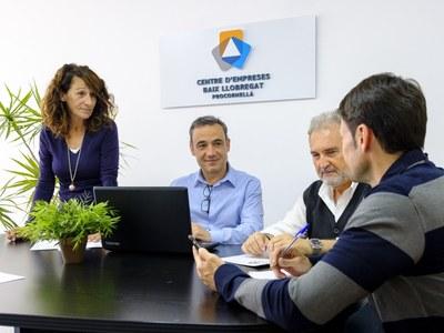 La taxa de supervivència de les empreses creades amb assessorament del Centre d'Empreses supera la mitjana