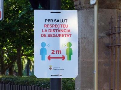L'Ajuntament de Cornellà rep un reconeixement per les mesures de distanciament físic i mobilitat sostenible implementades durant la pandèmia