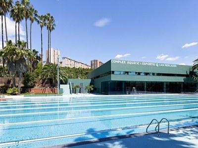 Les piscines exteriors del PELL i de Can Mercader obren a partir del 17 de juny