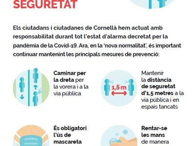 Mantenir les mesures de seguretat és fonamental per aturar els contagis de la COVID-19