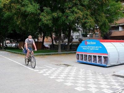 Més de 36.000 usos del Bicibox i més de 7.000 de l'E-Bicibox durant 2020