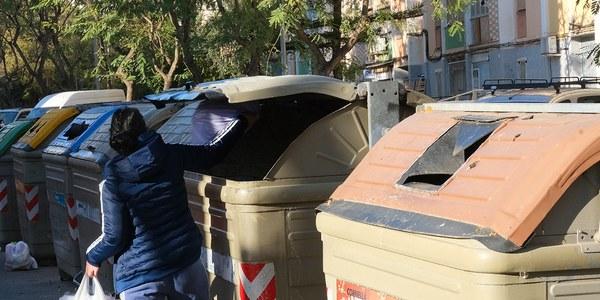 Objectiu per a 2025: reciclar el 55% de tots els residus