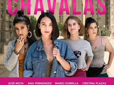 'Chavalas' en la plaza Catalunya