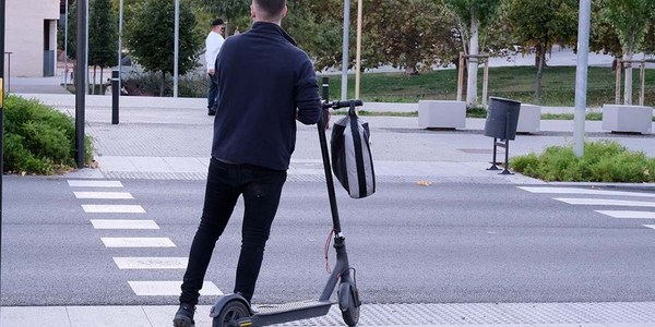 500 sanciones a patinetes eléctricos