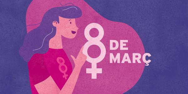 8M: Aixequem la veu per una societat igualitària