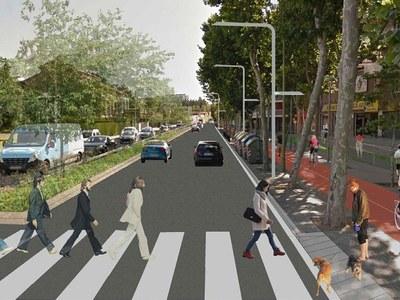 De Cornellà hasta Castelldefels por una moderna y sostenible via urbana