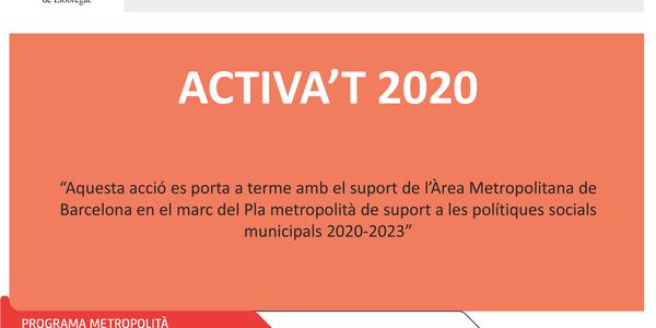 ACTIVA't: Nou projecte d'acompanyament a la recerca de feina