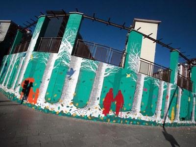Cornellà commemora el Dia Mundial de l'Art amb un repàs a l'art urbà
