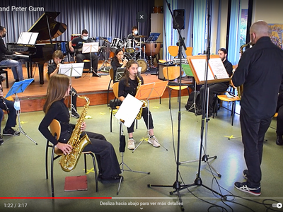 L'Escola de Música Roser Cabanas celebra un fi de curs virtual
