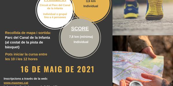 1a CURSA D'ORIENTACIÓ POPULAR DE CORNELLÀ DE LLOBREGAT