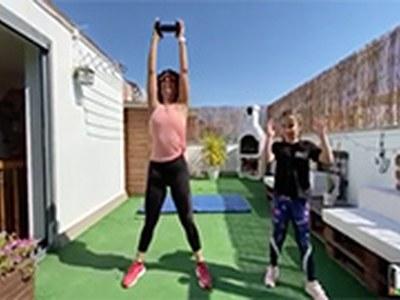 L'Ajuntament fomenta l'activitat física a casa durant el confinament