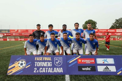 CLUB DEPORTIVO ALMEDA. Semifinalistes de Copa de Segona Catalana.