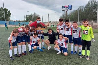 UNIÓ ESPORTIVA SANT ILDEFONS. El benjamí C s'ha proclamat campió de grup de Tercera Divisió amb una gran feina.