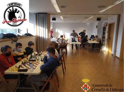 CLUB D'ESCACS PEÓN DOBLADO. Reinici d'una temporada atípica amb molt esforç.