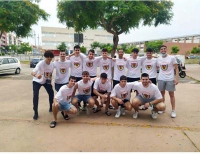 CLUB FUTBOL SALA CORNELLÀ. Aquesta temporada el sènior B, juvenil A i cadet han guanyat els seus respectius campionats i pujaran a primera divisió.