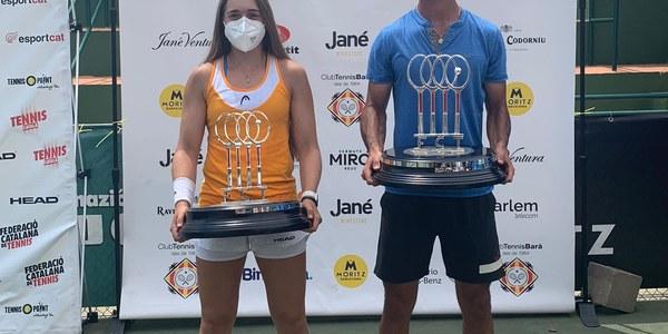 Tennis: Lucia Aranda es proclama campiona de Catalunya en categoria absoluta