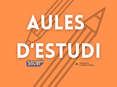 AULES D'ESTUDI MAIG-JULIOL