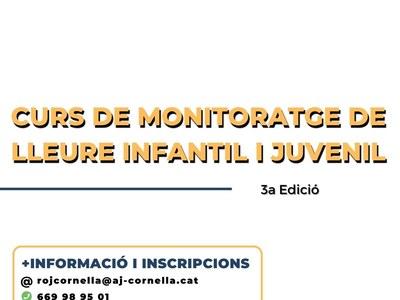 CURS MONITORATGE DE LLEURE: Inici 3a edició