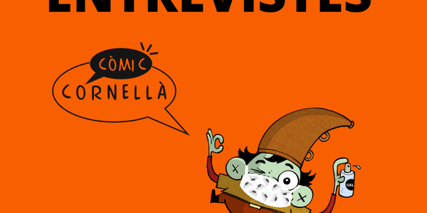 """Ja pots veure totes les entrevistes de les persones premiades del 36è Concurs de Còmics """"Ciutat de Cornellà"""""""