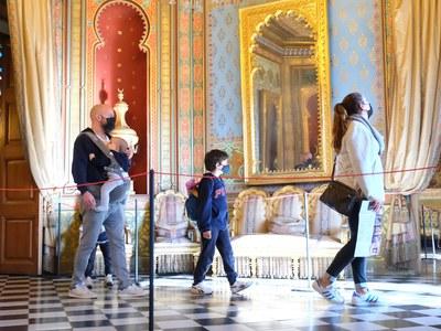 Restriccions per la Covid-19 al Museu Palau Mercader