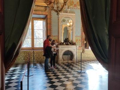 Ja disponible el nou format de visita lliure al Museu Palau Mercader