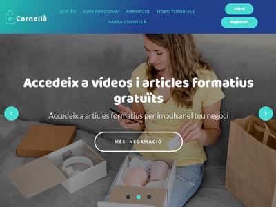 L'Ajuntament crea una plataforma de formació online per incentivar la digitalització del comerç local