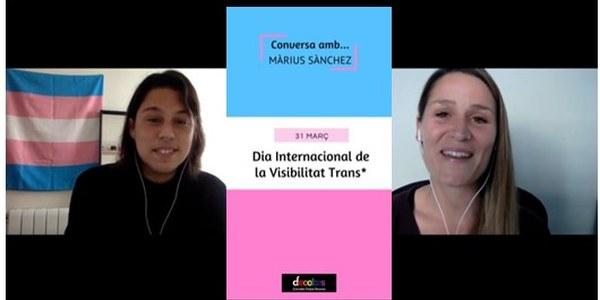 Commemoració de El Dia Internacional de la Visibilitat Trans el 31 de març a Cornellà de Llobregat
