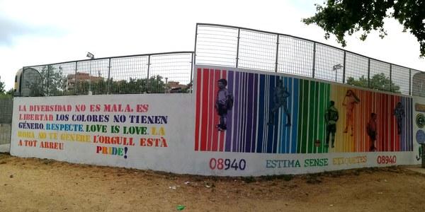 Commemoració del Dia Internacional de l'Orgull LGTBI a Cornellà de Llobregat