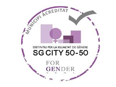 L'Ajuntament de Cornellà rep el Distintiu per la Igualtat de Gènere