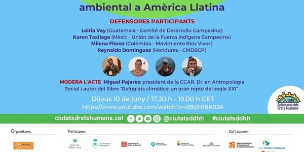 """Webinar: """"Connectant lluites de resistència ambiental a Amèrica Llatina"""""""