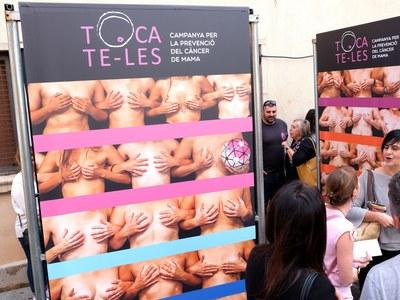 Cornellà conmemora el Día mundial contra el Cáncer de Mama con la Quincena Rosa