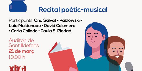 Cornellà conmemora el Día Mundial de la Poesía 2021