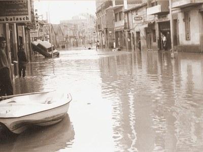 Exposición en recuerdo de las inundaciones de 1971