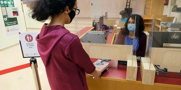 La Biblioteca Marta Mata y la Biblioteca Sant Ildefons abren las salas al 50% de aforo